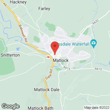 Map of wilko Matlock at Units 2/4 Bank Road, Matlock,  DE4 3AQ
