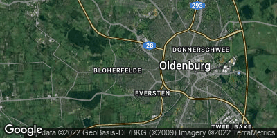 Google Map of Bloherfelde