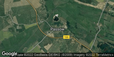 Google Map of Passow bei Angermünde