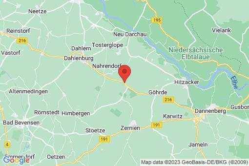 Karte Göhrde Nadlitz