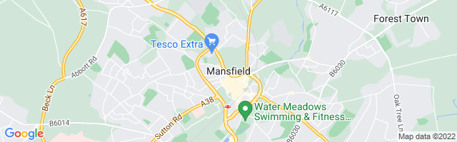 Map Of Mansfield
