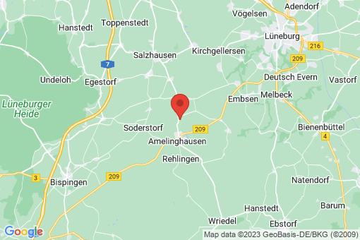 Karte Oldendorf (Luhe)
