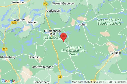 Karte Zootzen