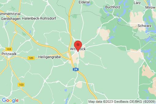 Karte Wittstock/Dosse