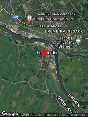 Google Map of Lemwerder