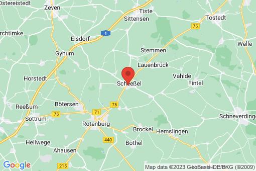 Karte Scheeßel