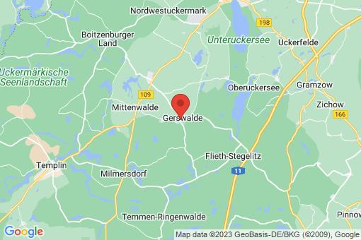 Karte Gerswalde