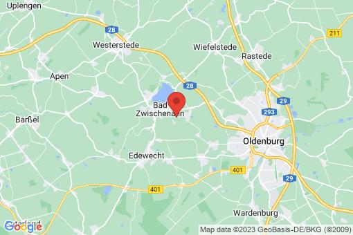Karte Bad Zwischenahn