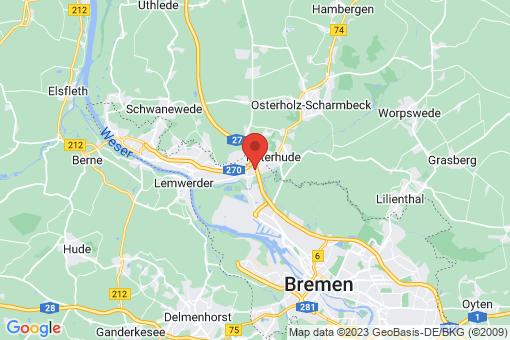 Karte Bremen-Burglesum