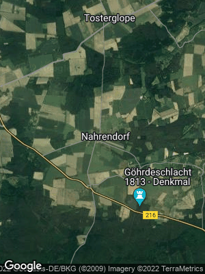 Google Map of Nahrendorf