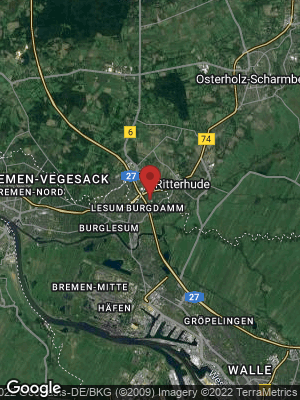 Google Map of Burgdamm