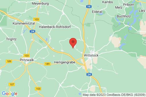 Karte Heiligengrabe Zaatzke