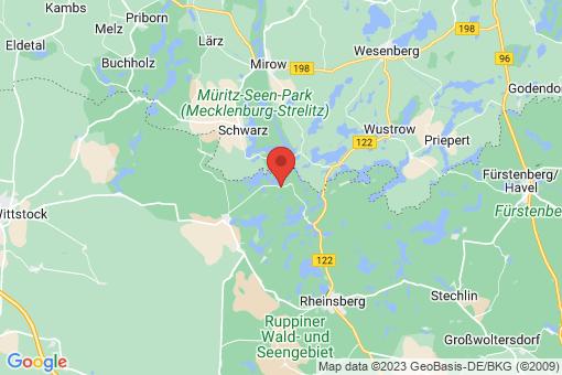 Karte Rheinsberg Luhme