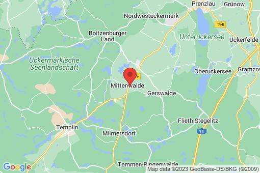 Karte Mittenwalde