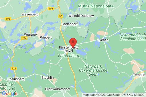 Karte Fürstenberg/Havel