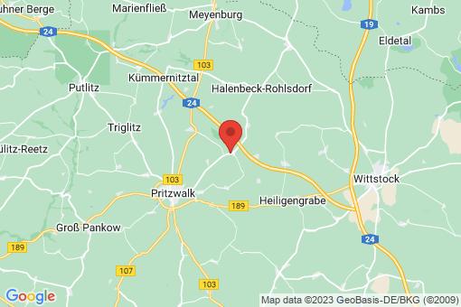 Karte Sadenbeck