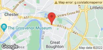Map of Flowers By Gaynor at 140 Christleton Road, Chester, Cheshire CH3 5TD