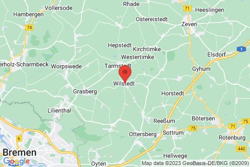Karte Wilstedt