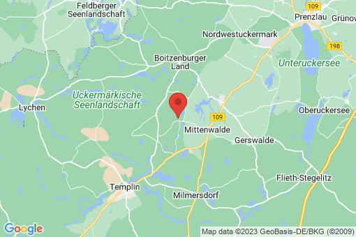Karte Herzfelde