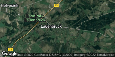 Google Map of Lauenbrück