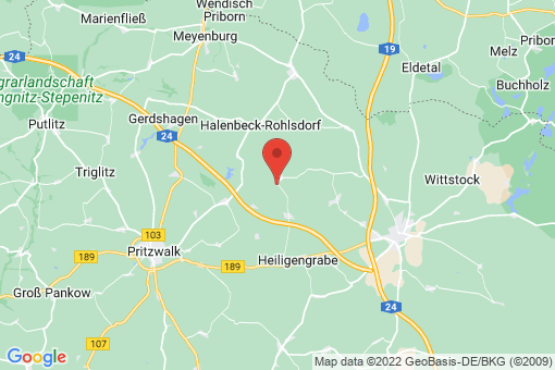 Karte Heiligengrabe Blesendorf