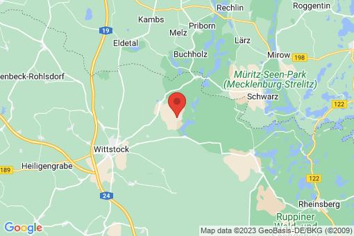 Karte Wittstock/Dosse Dranse