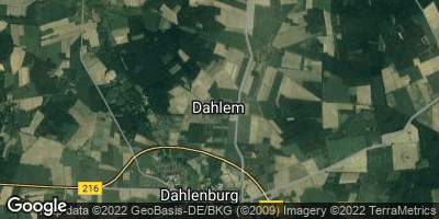Google Map of Dahlem