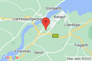 Ysbyty Gwynedd, Library & Learning Centre, North Wales NHS Library Service on the map