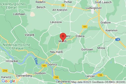 Karte Malliß