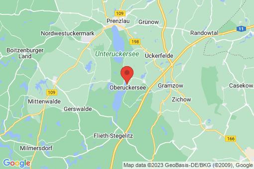 Karte Oberuckersee