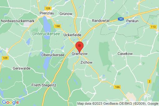 Karte Gramzow