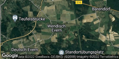 Google Map of Wendisch Evern