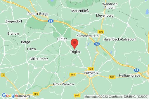 Karte Triglitz