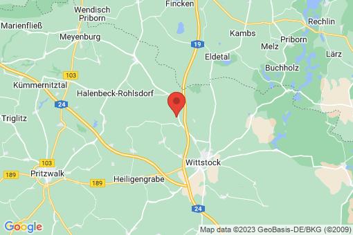 Karte Heiligengrabe Wernikow