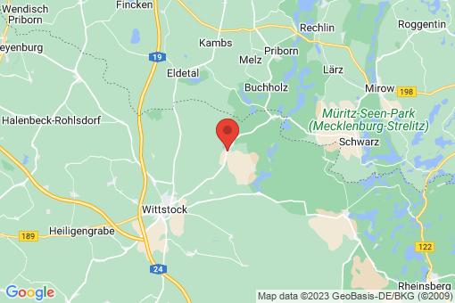 Karte Wittstock/Dosse Berlinchen