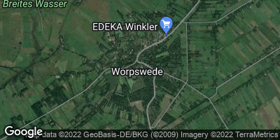 Google Map of Worpswede
