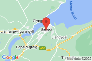 Bangor University Healthcare Sciences Library (Bangor) on the map