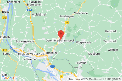 Karte Osterholz-Scharmbeck