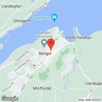 Map of Burger King at A5/A55 Llandegai, Bangor,  LL57 4BG