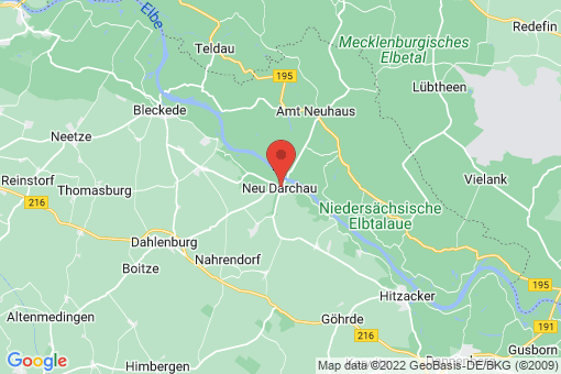 Karte Neu Darchau