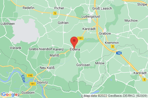 Karte Eldena