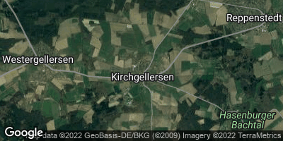 Google Map of Kirchgellersen