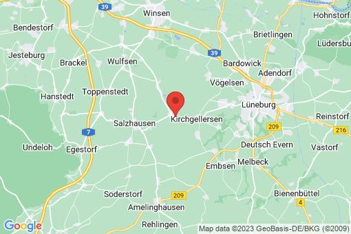 Karte Westergellersen