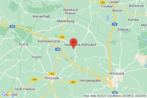 Karte Halenbeck-Rohlsdorf