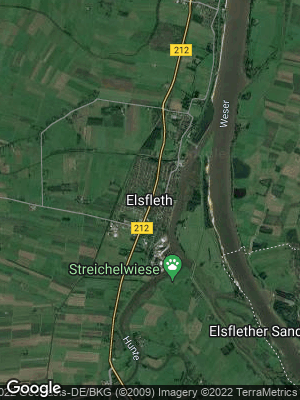 Google Map of Elsfleth