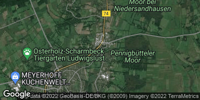 Google Map of Pennigbüttel