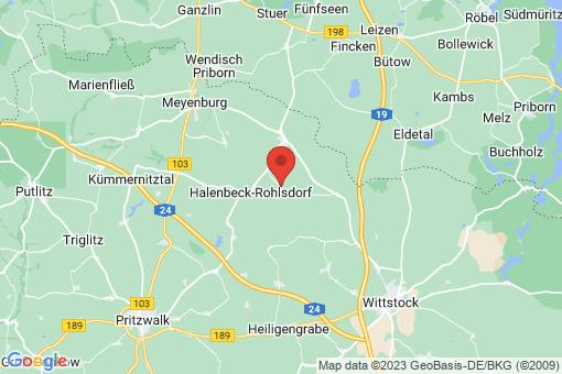Karte Wittstock/Dosse Niemerlang