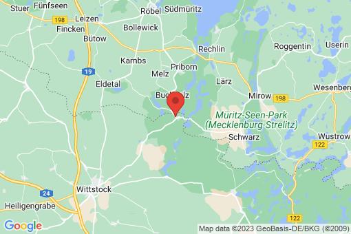 Karte Wittstock/Dosse Sewekow