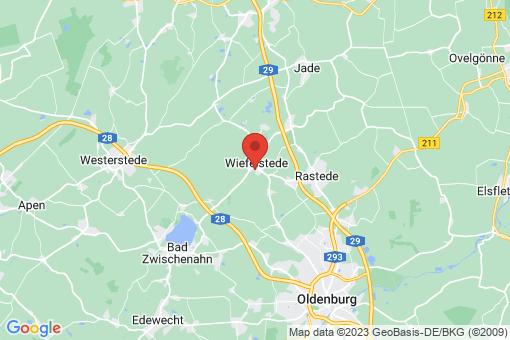 Karte Wiefelstede