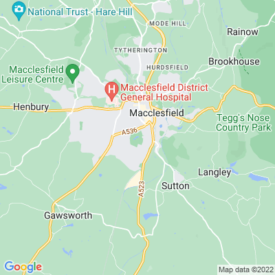Macclesfield South Park Location